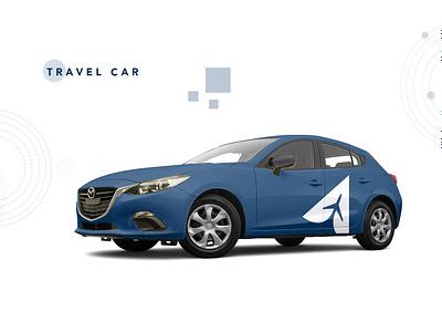 Ananya Travel World- Car rental Travel Agency graphicdesign car travel car rental logodesign travel agency web illustration logo design