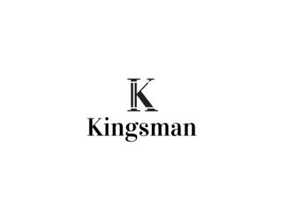KINGSMAN luxury branding luxury brand luxury logo lawyer finance black  white luxury k letter logo k logo wordmark lettermark design minimalist graphic design logo icon branding