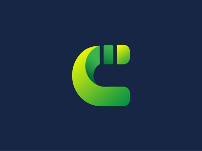 C Green green logo simple designs gradient design gradient icon gradient color letter c nature green simple vector minimalist design typography simple design graphic design icon logo branding