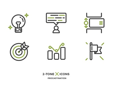 Scrum creative market outline icon scrum xprocrastinationcontest
