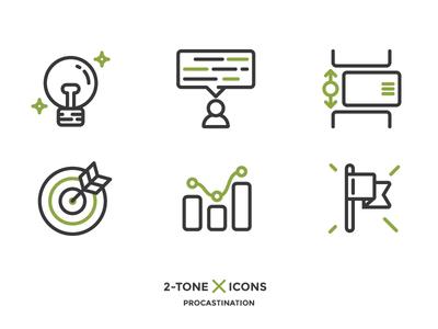 Scrum creative market outline icon scrum xprocrastinationcontest
