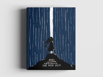 Daily illustration challenge 003 - Moses cover artwork book cover procreate illustration moses