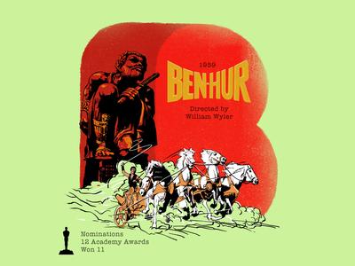B for movie 'Ben-hur'.