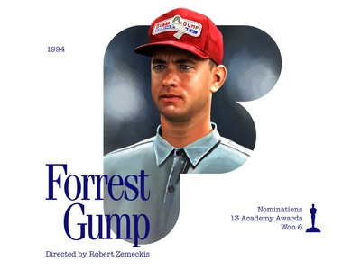 F for movie 'Forrest Gump'.