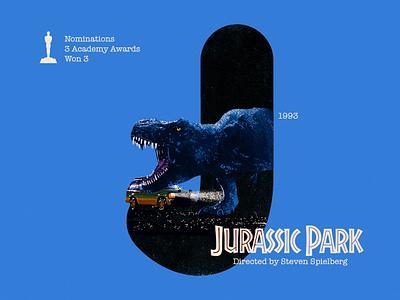 J for movie 'Jurassic Park'. day10 36daysoftype-j type dinosaur steven spielberg jurassicworld jurassicpark typography winner india digital academy awards type challenge movie illustration hollywood graphic design graphic art 36daysoftype drawing