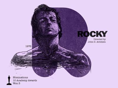 R for movie 'Rocky'.