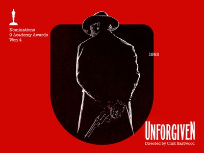U for movie 'Unforgiven'. type art portrait art winner clint eastwood type woodcut portrait typography photoshop type daily type challenge digital academy awards movie illustration hollywood graphic design graphic art 36daysoftype drawing