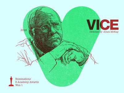 V for movie 'Vice'.