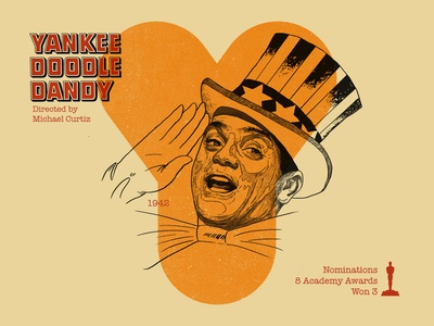 Y for movie 'Yankee Doodle Dandy'. james cagney yankee doodle dandy woodcut type art portrait india typography type photoshop type daily type challenge digital academy awards movie illustration hollywood graphic design graphic art 36daysoftype drawing