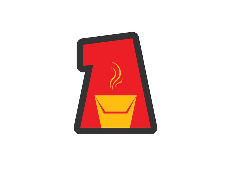 BABAHE box logo food logo food box logo red logo bento smoke food lunchbox food box typography branding vector ui illustration logo design logo alphabet a logo