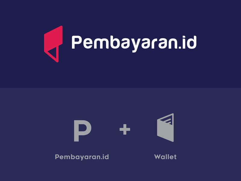 Pembayaran.id online wallet payment transaction p logo wallet logo wallet app money app