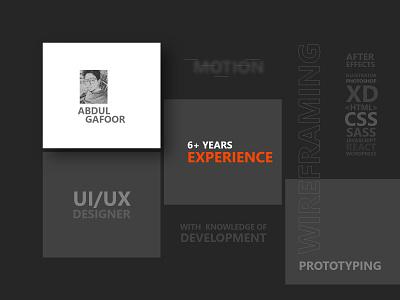 about me ux designer ui designer visual design clean resume cv resume about me about