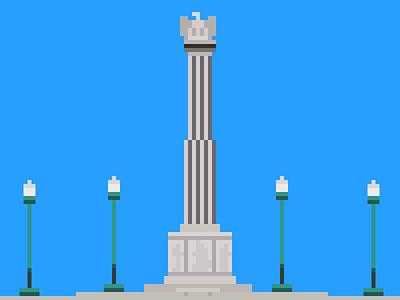 Pixel Logan Square Monument chicago logan square pixel