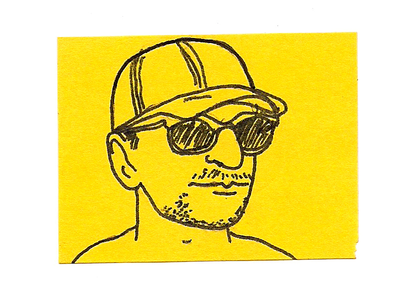 Tiny Vincent Post-It 30 days of vincent html msaed sticky notes