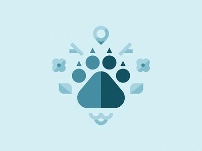 Wildlife icon illustration wildlife