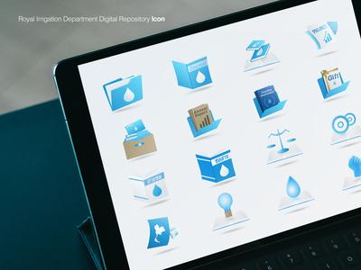 Irrigation Digital Repository Icon