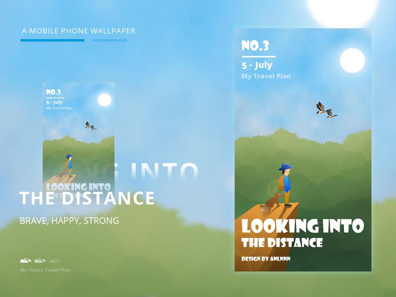 My travel plan spring illustration travel plan 插画设计