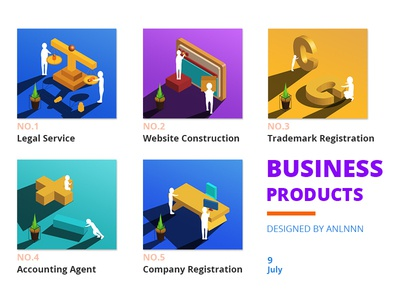 Business product
