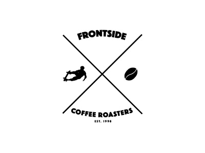 Frontside 2 branding logo identity graphic design coffee house