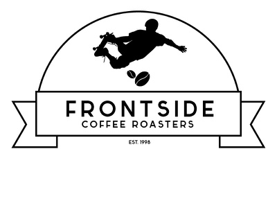 Frontside 3 branding logo identity graphic design coffee house