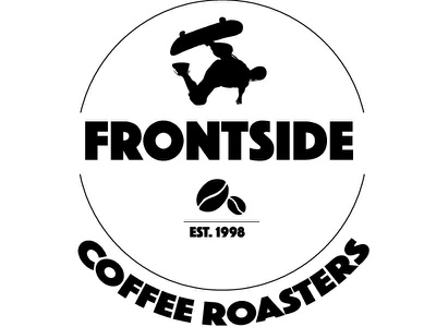 Frontside branding logo identity graphic design coffee house