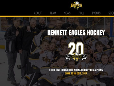 KHS Hockey responsive web design responsive design wordpress development wordpress design wordpress theme