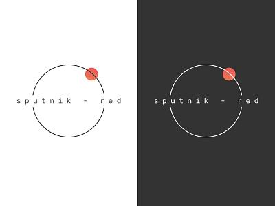 Sputnik-Red Logo figma vector branding logo design