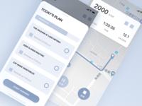 QuDong App Wireframe