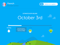 Duolingo Course Page