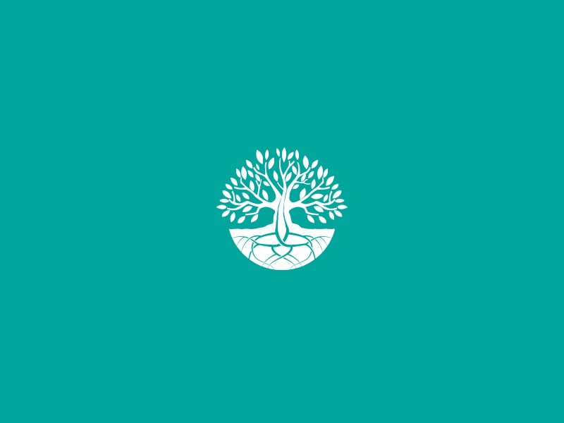 Temenos health mantalhealth therapy life tree vector clean branding logo