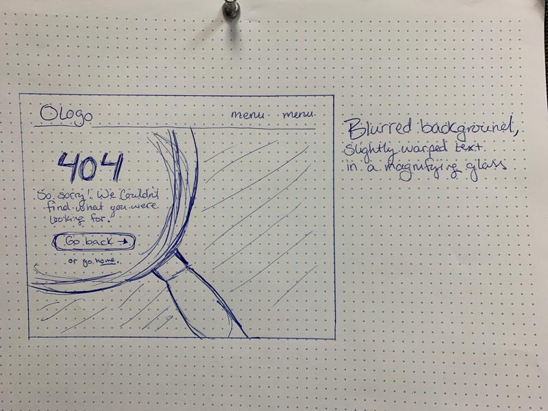 Daily UI #8 sketch challenge dailyui