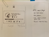 Daily UI #09 sketch challenge