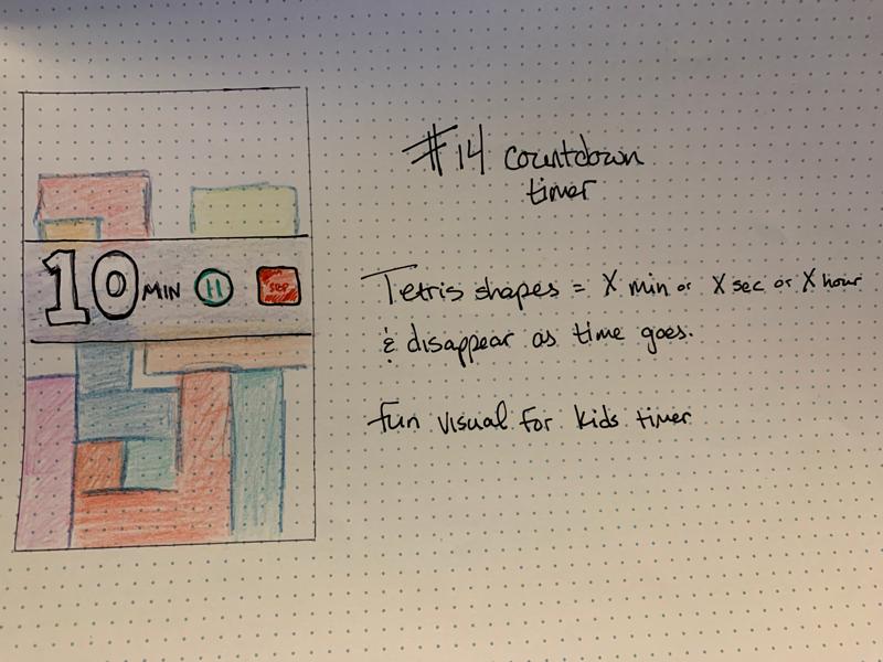 Daily UI #14 sketch challenge dailyui