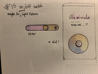 DailyUI #15 sketch challenge