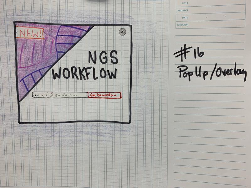 Daily UI #16 sketch challenge dailyui