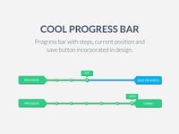 Cool UI UX Progress Bar