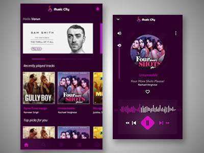 Music App called Music City