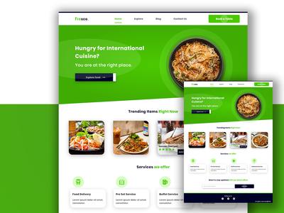 Fresco. Restaurant Website