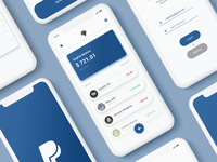 #Exploration - Paypal App Redesign