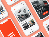 #Exploration - JBL App Design