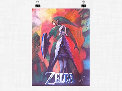 Poster - The Legend of Zelda: Skyward Sword nintendo skyward sword the legend of zelda
