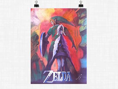 Poster - The Legend of Zelda: Skyward Sword nintendo skyward sword the legend of zelda