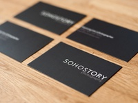 SOHOSTORY business cards