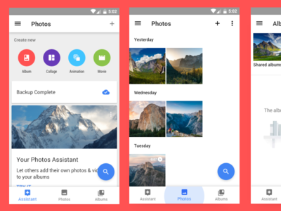 Android Bottom Nav [Adobe XD File]