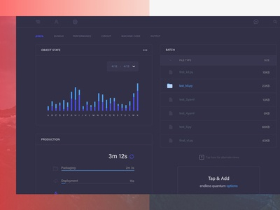 Project Dashboard 8/10