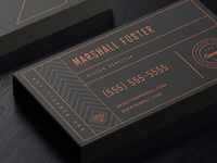 Agency Business Card Concept