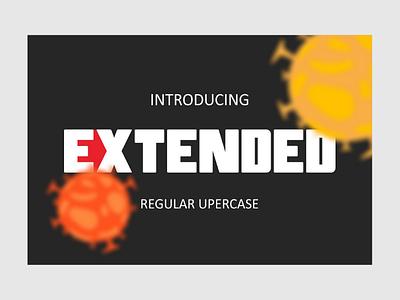EXTENDED newfont font
