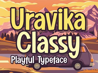 URAVIKA CLASSY bestfont font