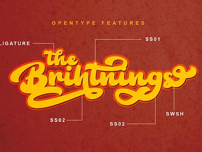 FONT Get $1 Event covid19 web app bold animation logo branding newfont typography design handmade font