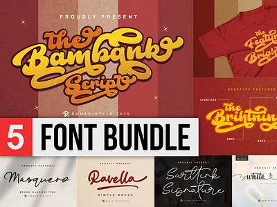 $1 Font Bundle Event blackfriday app bold animation logo illustration branding newfont typography design handmade font